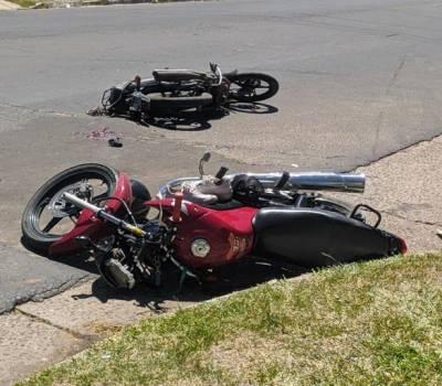 Se conoció el delicado cuadro de salud de los motociclistas que impactaron en zona del Hípico