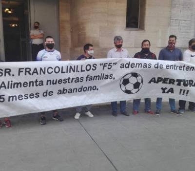 Propietarios de canchas de fútbol 5 analizan nuevamente abrir sus puertas sin habilitación