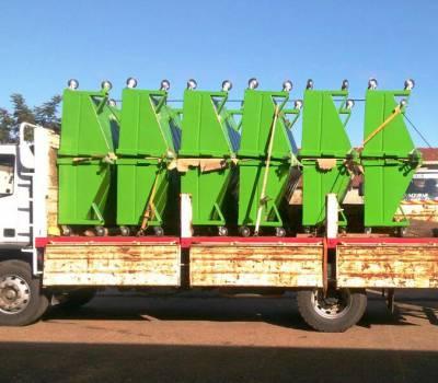 La Municipalidad de Concordia adquirió nuevos contenedores de residuos