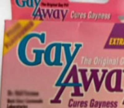 Retiran las pastillas con sabor a pene que prometían curar la homosexualidad