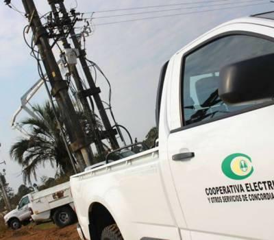 Desde la Cooperativa Eléctrica explicaron a que se debieron los cortes de este domingo en algunas zonas de Concordia